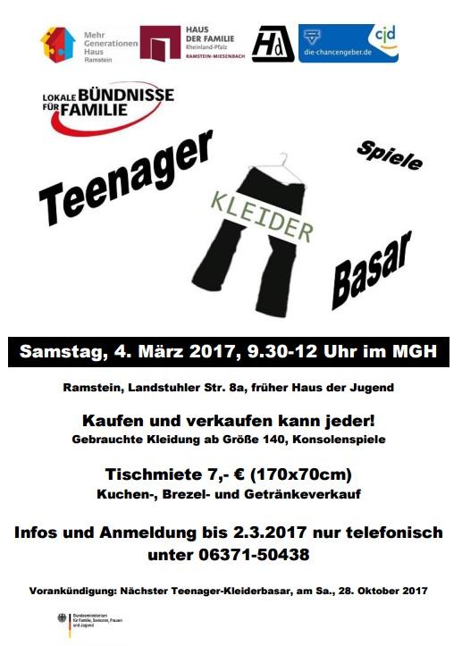 TeenagerKleiderbasaeMaerz2017